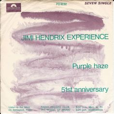 Jimi Hendrix Experience* - Purple Haze (Vinyl) at Discogs
