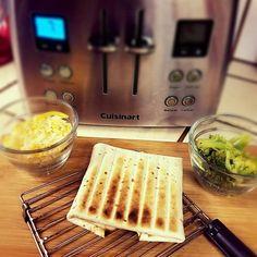 Afternoon #snackattack. Make a quick #broccoli and #cheese #toastilla. www.toastilla.net  #toaster #tortillas #sosimple #onthego #comingsoon #kickstarter