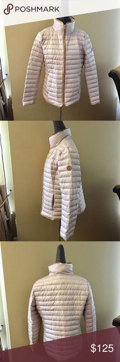 Ralph Lauren down puffer coat Very elegant looking puffer coat by Ralph Lauren. Super lightweight and warm. Size 9. Brand new, never worn. Ralph Lauren Jackets & Coats Puffers