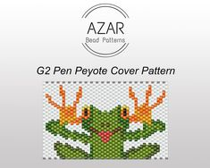 One of a kind peyote & loom patterns by AZARBeadPatterns Peyote Stitch Patterns, Seed Bead Patterns, Beading Patterns, Beaded Bracelet Patterns, Art Patterns, Painting Patterns, Color Patterns, Embroidery Patterns, Crochet Patterns
