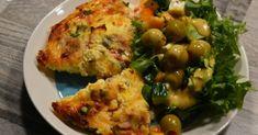 Tonnikalauunimunakas Low Carb, Eggs, Chicken, Meat, Breakfast, Food, Morning Coffee, Eten, Egg