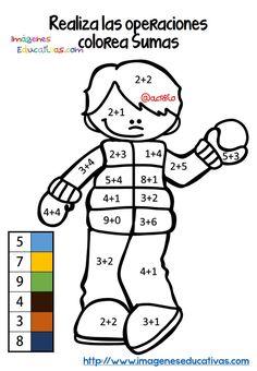 Fichas colorear sumas y restas (3)
