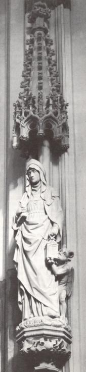 Goedele van Brussel. - 1909. Beeldhouwwerk door H. van der Geld. Nederland, Den Bosch, St-Janskathedraal