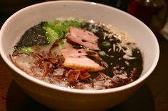 hidechan ramen in midtown. ranked #1 by serious eats. one of the best, but not the winner in my heart.