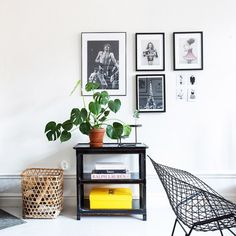 my scandinavian home: Monochrome and mid-century in lovely Swedish spaces