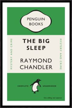 The Big Sleep by Penguin Books from King & McGaw
