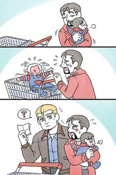 Lokis face tho  Loki : Mama whats Thor doing? Im scared
