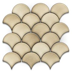 Shop GBI Tile & Stone Inc. Glossy Glazed Ceramic Mosaic Wall Tile (Common: 13-in x 13-in; Actual: 13.75-in x 13.75-in) at Lowes.com