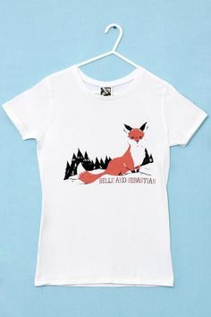 B&S Fox In The Snow t-shirt
