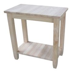 Customize your living room or bedroom space with this charming Solano accent table. Designed in a modern style, this accent table is completed with a lower shelf to keep books, decorations and other accessories organized.