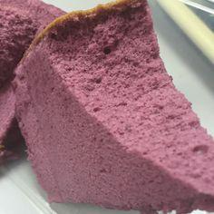 IMG_2534 ube purple yam chiffon cake