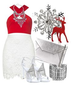 """""""It's Christmas"""" by bianca-2904 on Polyvore featuring Kim Rogers, MICHAEL Michael Kors, Motel and Giuseppe Zanotti"""