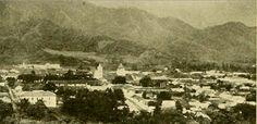 Foto panorámica de Ibagué en 1918