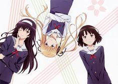 A-1 Pictures, Saenai Heroine no Sodatekata, Saenai Heroine no Sodatekata Complete Book, Sawamura Spencer Eriri, Kasumigaoka Utaha, Katou Megumi