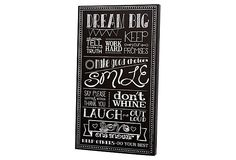 Laugh Out Loud Wooden Panel on OneKingsLane.com 28 x 16 x 2  twelve timbers inc.