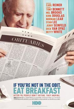 Directed by Danny Gold. With Carl Reiner, Iris Apfel, Tony Bennett, Alan Bergman. Carl Reiner tracks down several nonagenarians to show how the twilight years can be rewarding. Jewish Film Festival, Norman Lear, Carl Reiner, Film Movie, Movies, Films, Hbo Documentaries, Fiction Film, Tony Bennett