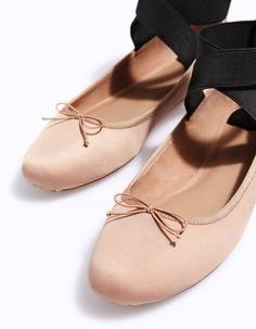 Elasticated ballerinas - All | Stradivarius Other Countries