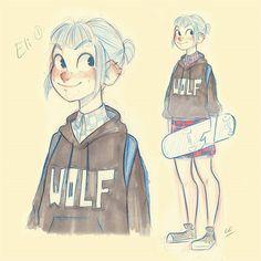 Elizabeth best known as Eli still working on her.