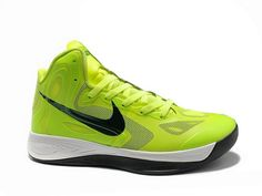 56190641cdbb Nike Zoom Hyperfuse 2012 Green Black White