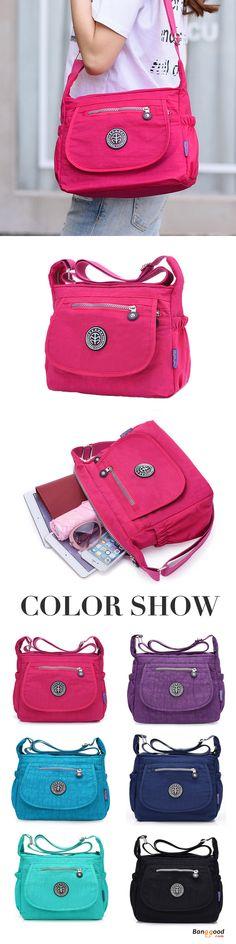 US$17.4+Free shipping. Shoulder Bag, Hobo Shoulder Bag, Crossbody Bag, Waterproof, Casual, Outdoors. Color: Rose Red, Black, Dark Blue, Purple Red, Blue, Dark Purple, Green, Beige. Shop now~