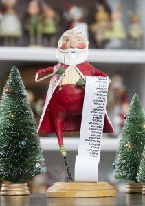 Santa by Lori Mitchell