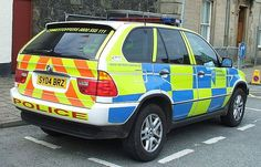 BMW X5 used by the Northern Constabulary. - policemag.com - POLICE Magazine