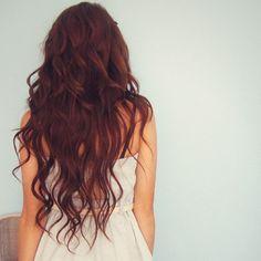 long curly hair <3