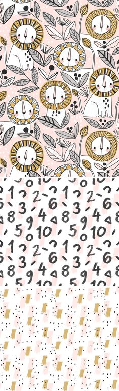 wendy kendall designs – freelance surface pattern designer » counting lions