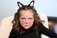 hairstyles for kids girls | ... {Kitty} Cat Ears | Halloween ...