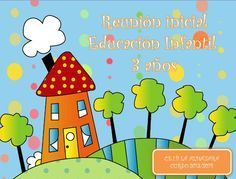 POWER PONIT REUNIÓN 3 AÑOS Teaching Grammar, Classroom Organization, Cute Drawings, Lesson Plans, Make It Simple, Kindergarten, How To Plan, Logos, School