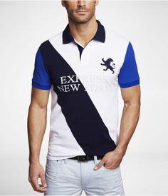 Camisa ajustada polo de Express