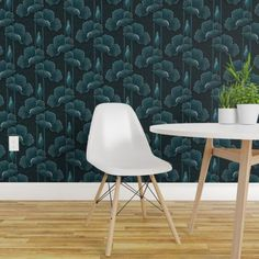 Arthouse Country Garden Rose Poppy Floral Wallpaper Teal 259600