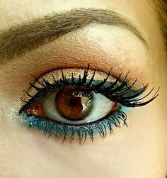 mermaid eyes makeup