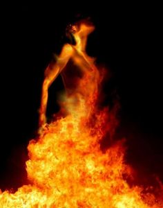 """Ishat is a Phoenician Goddess of Fire (Her name means """"Fire""""). She is mentioned in the Epic of Ba'al as one of the enemies of the God who is destroyed by Anat, the Warrior Goddess. I"""