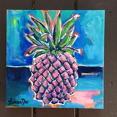 There are a few Pineapple Ladies left, but most of these are being packed and shipped out! Guache, Tropical Fruits, My Favorite Image, Abstract Flowers, Painting & Drawing, Pineapple, Graphic Design, Watercolor, Landscape