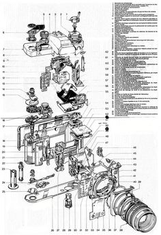 Exploded view with bunch of parts - Communication of Design Ideas