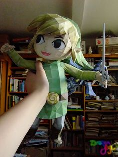 Link Wind Waker papercraft:Get the link for the download at the bottom of the page