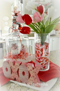 40 Lovely Valentine Home Decor Ideas For Couples - San Valentino Idee My Funny Valentine, Valentines Day Food, Valentines Day Decorations, Valentine Day Crafts, Holiday Crafts, Valentine Ideas, Printable Valentine, Valentines Flowers, Homemade Valentines