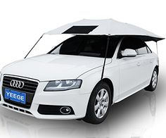 YEEGE Universal Fit Car Sun Shade Canopy Cover Nylon * Learn more by visiting the image link. Car Canopy, Car Tent, Canopy Cover, Sun Shade Canopy, Car Sun Shade, Pet Insurance Reviews, Car Insurance, Radios, Dog Car Accessories