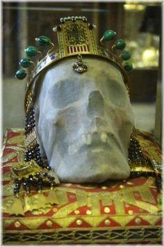 Svatovítský poklad - lebka sv. Václava