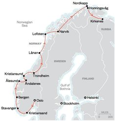 The Ultimate Norwegian Road Trip - Condé Nast Traveler