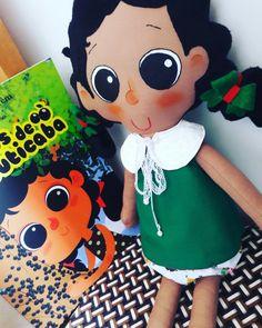 Boneca Luiza do Livro Olhos de jabuticaba , by atelier brincar com efeito. #bonecadepano #atelierbrincarcomefeiti