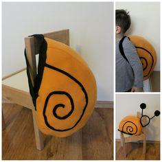 disfraz de caracol- snail costume