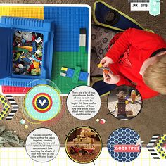 Lego Time   Simple Scrapper   Kimberly Kalil Designs