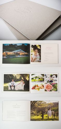 Brochure for Ever After Wedding Venue by the WeAreAbsoluteUK design team www.weareabsoluteuk.com