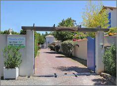 Création du site Internet de la chambre d'hôtes Le clos des romarins  à Saint-Palais-sur-Mer en Charente-Maritime.