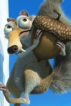 Ice age, Scrat is my favorite!!!