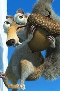 Ice age, Scrat is my favorite!!!