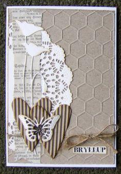 Ravn Design: Bryllupskort