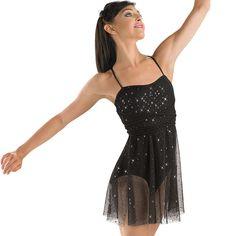 Glitter Mesh Wrap-Tie Dance Dress; Balera - teen idle - marina and the diamonds
